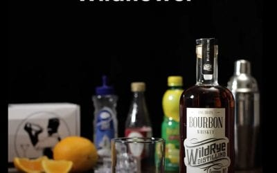 Wildrye Wildflower Using Five Drops Bourbon