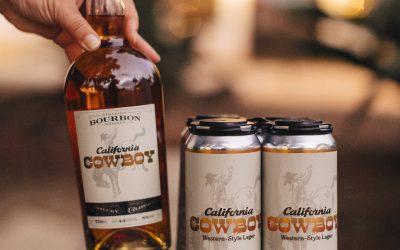 California Cowboy Western-Style Lager Beer & Bourbon Bundle