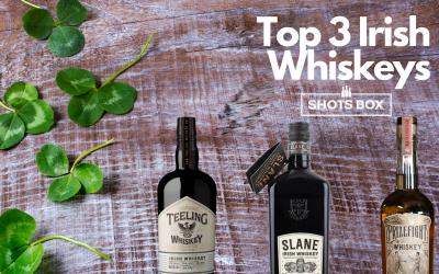 2021 Top 3 Irish Whiskey's